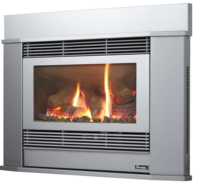 Esprit 69 Inbuilt Gas Log Fire