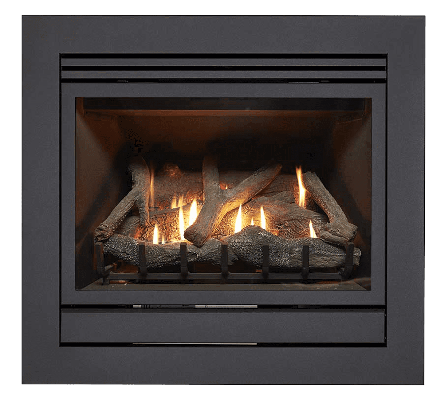 Matrix gas log fires