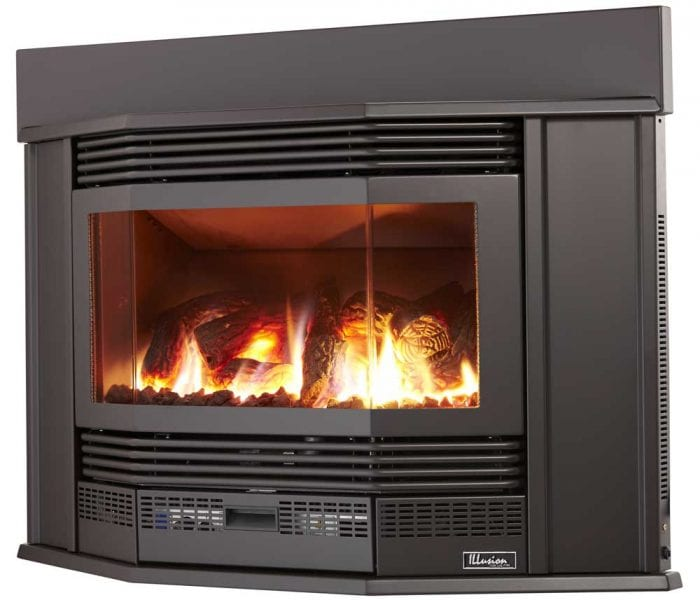Millennium 39 Inbuilt Gas Log Fire