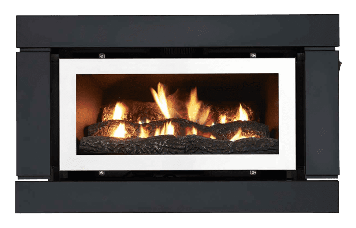 Luminar 1000 Inbuilt Gas Log Fire