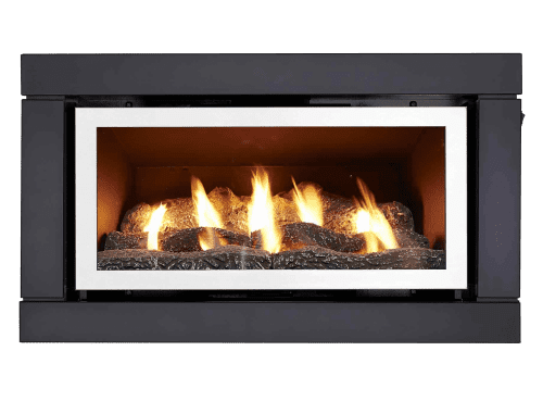Luminar 3000 Inbuilt Gas Log Fire