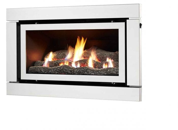 Luminar 2000 Inbuilt Gas Log Fire