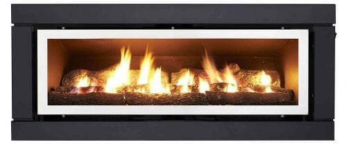 Luminar 4000 Inbuilt Gas Log Fire
