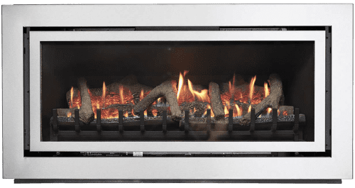 Mystique 8000L Inbuilt Gas Log Fire