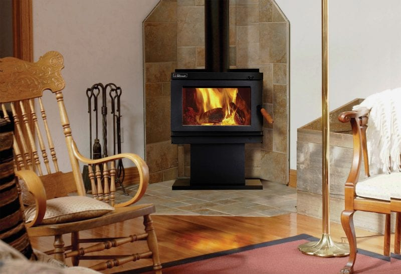 Radiant 16 gas log fires display
