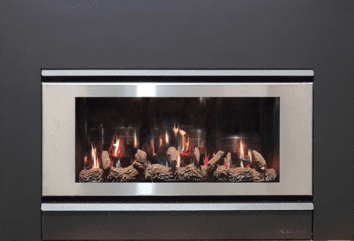 Azura 3.0 Inbuilt Gas Log Fire