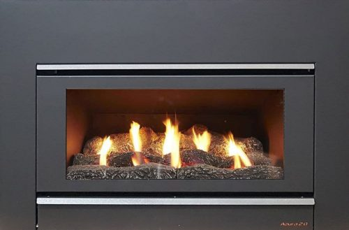 Azura 1.0 Inbuilt Gas Log Fire